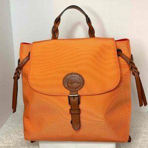 NWT - Dooney and Bourke Nylon Flap Backpack